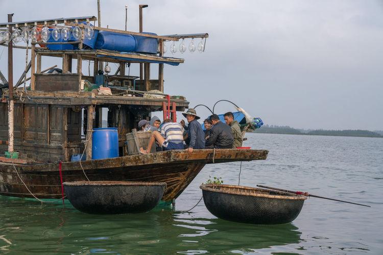 Fishermen in