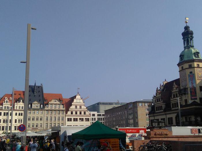 Leipzig Germany City City Life Architecture Sommer Summer Altes Rathaus Deutschland Markt Market Sachsen