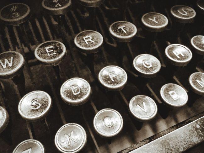 Old typewriter Typewriter