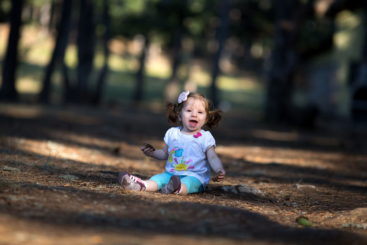 Thank you very much for your interest to my works... Childhood Day Full Length Happiness Leisure Activity Lifestyles Nature One Person Outdoors Real People Smiling Sunlight Tree
