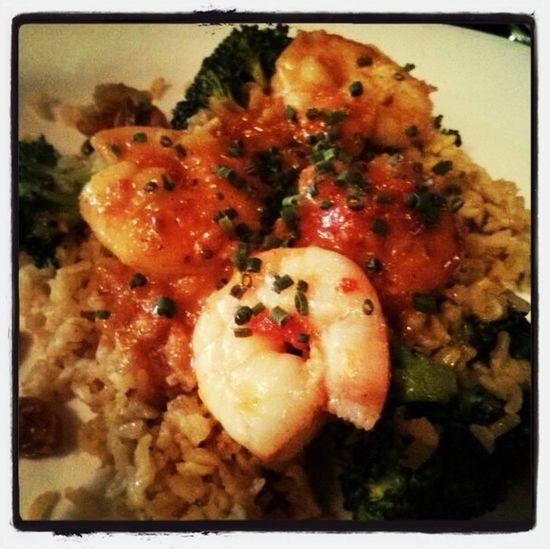 Shrimp vandaloo Yale Newhavenrestaurantweek