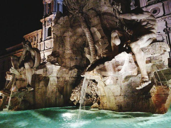 Roma Fountain PiazzaNavona First Eyeem Photo