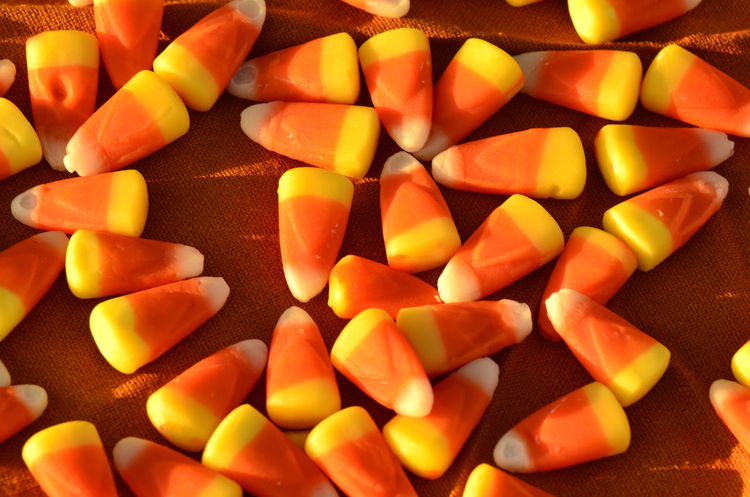 traditional Halloween candy con Autumn HALLOWEEN CANDY Halloween Trick Or Treat Candy Corn Close-up Day Fall Food Food And Drink Freshness Indoors  Large Group Of Objects No People Ready-to-eat Sweet Food Sweets