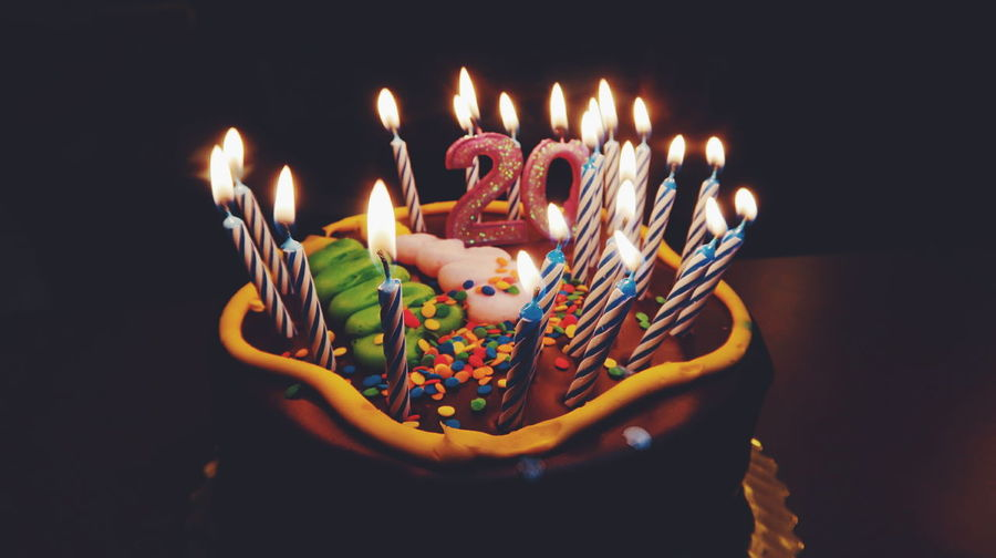 Guess who's birthday it was today? 😁 Burning Flame Candle Celebration Birthday Candles Heat - Temperature Sweet Food Birthday Cake Birthday Glowing Diya - Oil Lamp Adult Human Body Part Cake People Indoors  Life Events Temptation Food Close-up EyeEmNewHere