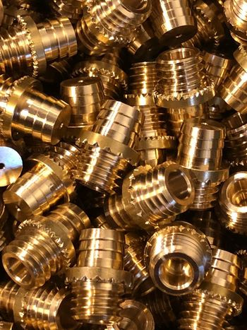 Nut - Fastener Technology Backgrounds Connection Block Connection No People Full Frame Close-up