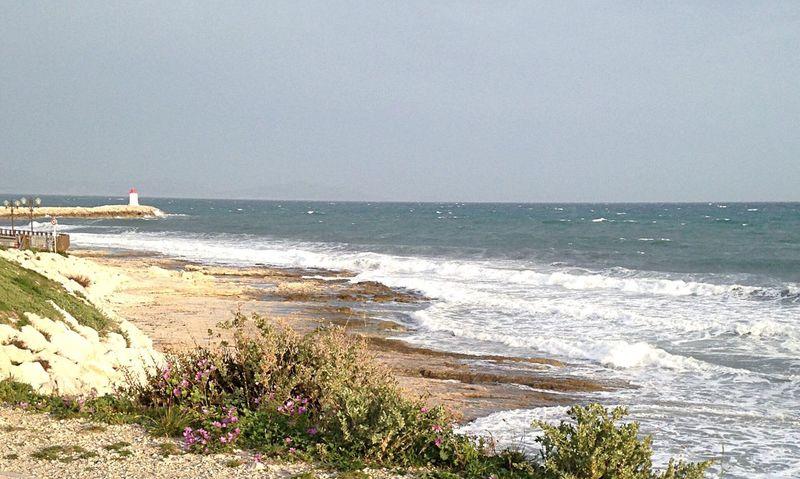 Sea Seaside Sausset Les Pins