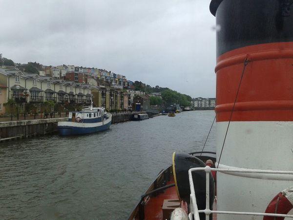 Boat Trip Johnking Riveravon Landscape Bristol, England Europe
