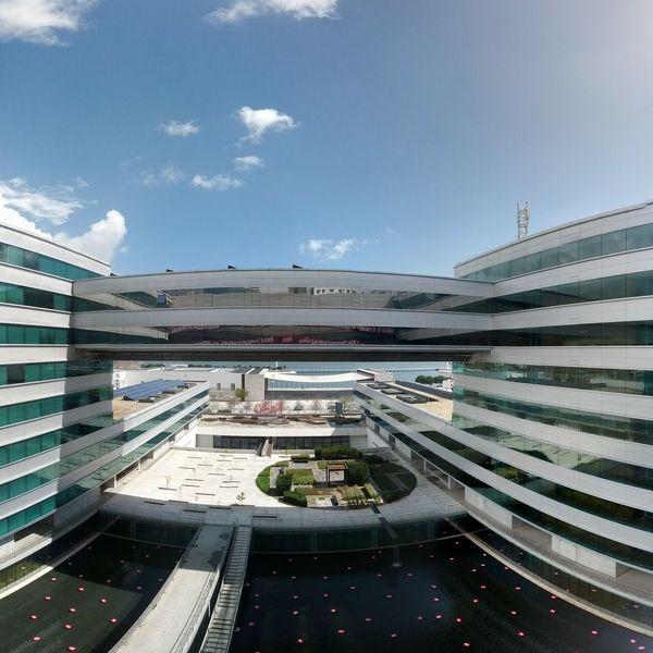 Edifício Vodafone no Parque das Nações, Lisboa, Portugal Lisboa Portugal 2013 Parque Das Nações