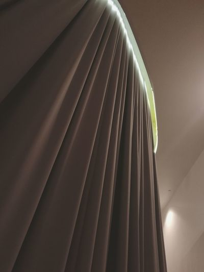 Low angle view of curtain