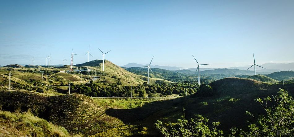 Windfarm Windmill Pililla Rizalprovince Philippines How Do We Build The World? Landscapes With WhiteWall