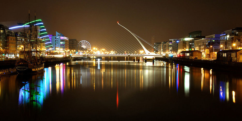 The Liffey Liffeyriver Nikon Dublin Ireland City