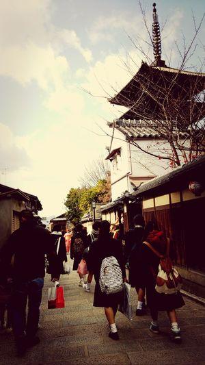 修学旅行にて**(ू•ω•ू❁)** Japanese Culture Kyoto, Japan Japanese Temple Japan