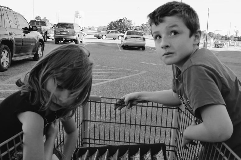 Visual Journal October 2017 Southeast, Nebraska Autofocus Camera Work Everyday Lives EyeEm Gallery FUJIFILM X100S Kids Being Kids Parking Lot Shopping Shopping Cart Small Town America Storytelling Visual Journal Always Taking Photos Boys Candid Photography Casual Clothing Childhood Day Elementary Age Eye For Photography Fujifilm_xseries Girls Hop On Land Vehicle Leisure Activity Lifestyles Missed Focus Outdoors Parkinglot Photo Diary Playing Practicing Photography Real People Riding Sibling Small Town Stories Togetherness Transportation Two People