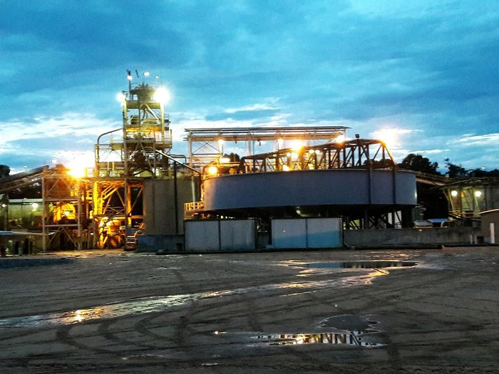 Industry! Mine! Mill! Night Illuminated No People Minería Industrial Building  End Of The Day Workplace Industry Sunset Work