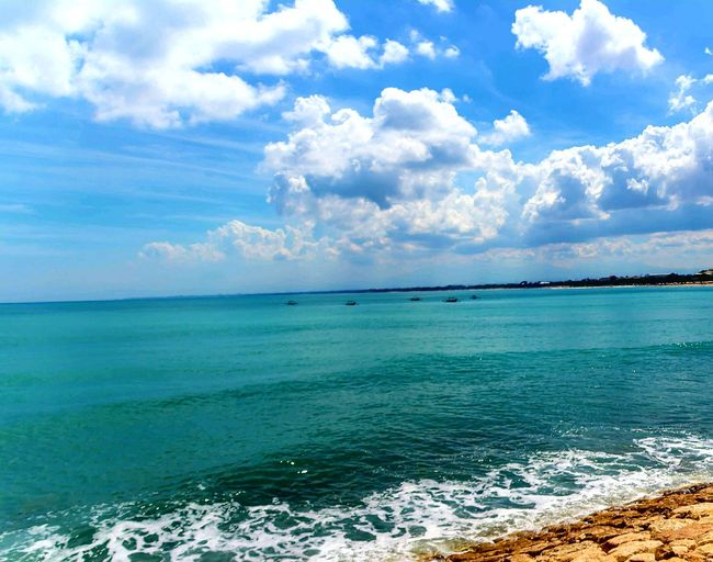 Sea Beach Cloud - Sky Tranquil Scene Beauty In Nature Day Outdoors Scenics Beach Resort View Kuta Bali