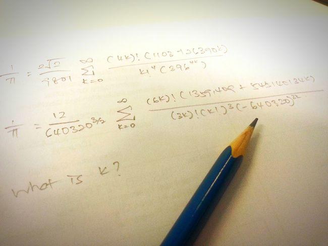 Precision Pie Calculus