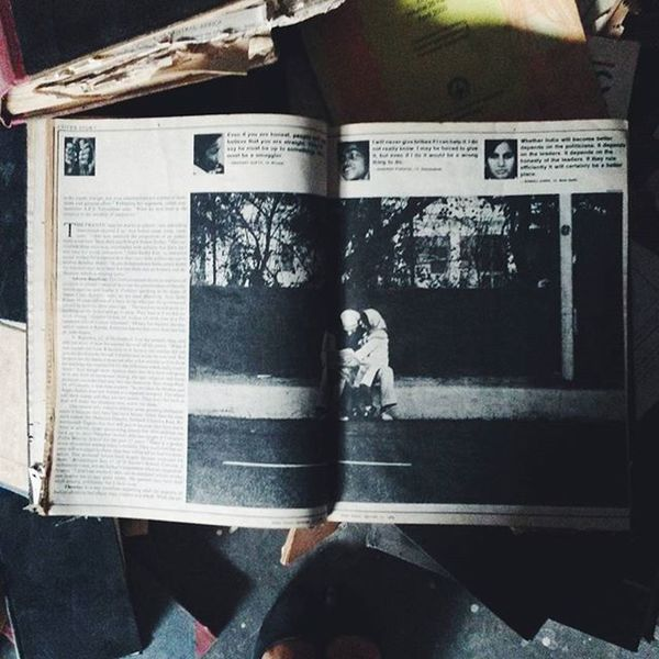 Remnants of a time before National Geographic magazine, 1968 Vscocam VSCO Natgeo Nationalgeographic Magazine Book Findings Old Vintage Gold Precious Explore ExploreEverything Photooftheday Vscooftheday