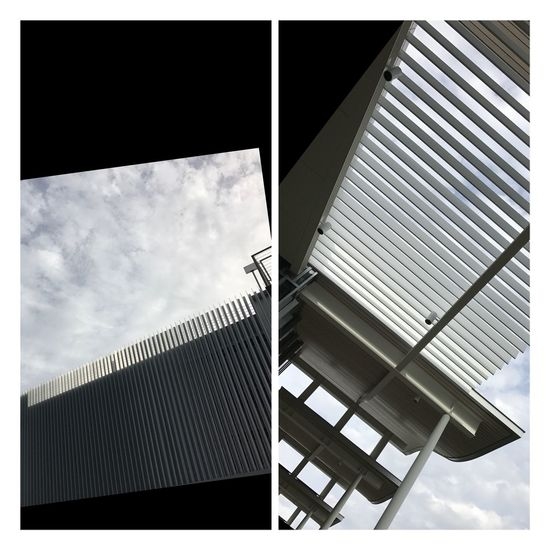 Architectural elements urban architecture steel concrete