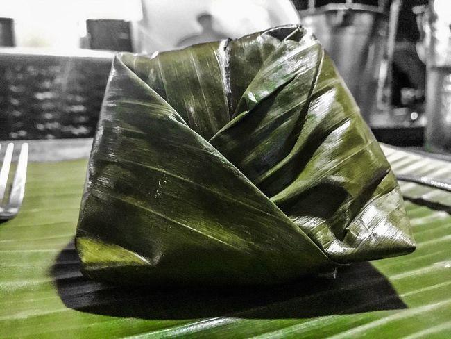No People Close-up Leaf Table Green Color Indoors  Day Food Nature Freshness Rice Binalot Rice Binalot Kanin