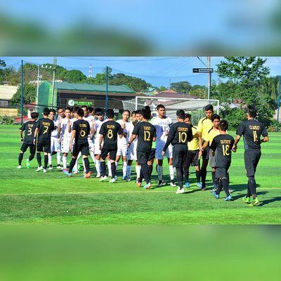 Ateneo, UST Juniors settle for a draw, 2-2, Saturday in FEU-FERN Diliman ⚽ . . . UAAP Uaap77 Uaapseason77 ADMUvsUST ateneo ust sbspotlight soccerbible juniors football themanansala