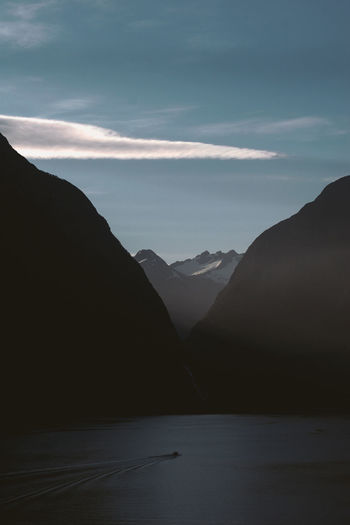 blessed for going places I've never been before. #milfordsound Dramatic Lighting Low Angle View Low Light Milford Sound New Zealand Scenery Beauty In Nature Day Dramatic Landscape Landscape Mountain Nature New Zealand No People Outdoors Scenery Scenics Sky Tranquil Scene Tranquility Water Be. Ready. Shades Of Winter The Great Outdoors - 2018 EyeEm Awards