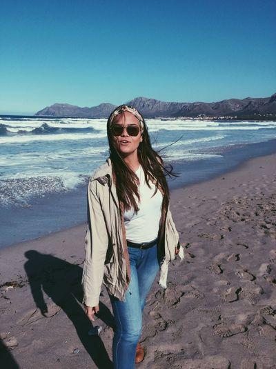 Beach Mallorca Paradise Wind Sea Relaxing Enyoing Life Sunshine