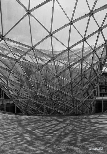 Architecture Blackandwhite Built Structure Glass Indoors  Milano No People Steel Structure