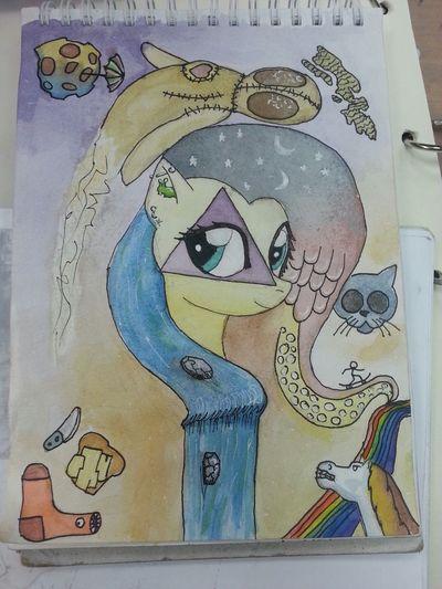 It's Amazing! Art At School Wow *-* Pony❤️