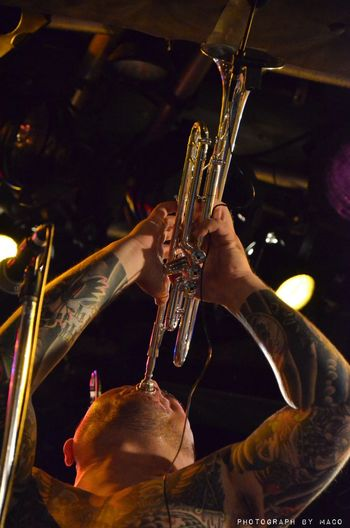 Band Photography Photgrahbymaco Live Photo Punkrock Live トランペット Trumpet Tatoo From Nagoya アニマルズ