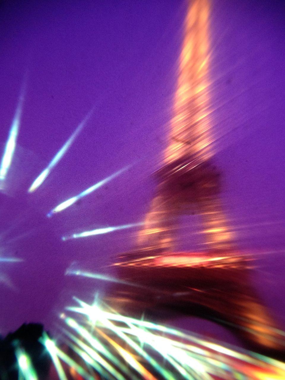 blurred motion, illuminated, night, motion, long exposure, speed, no people, indoors, defocused, sky