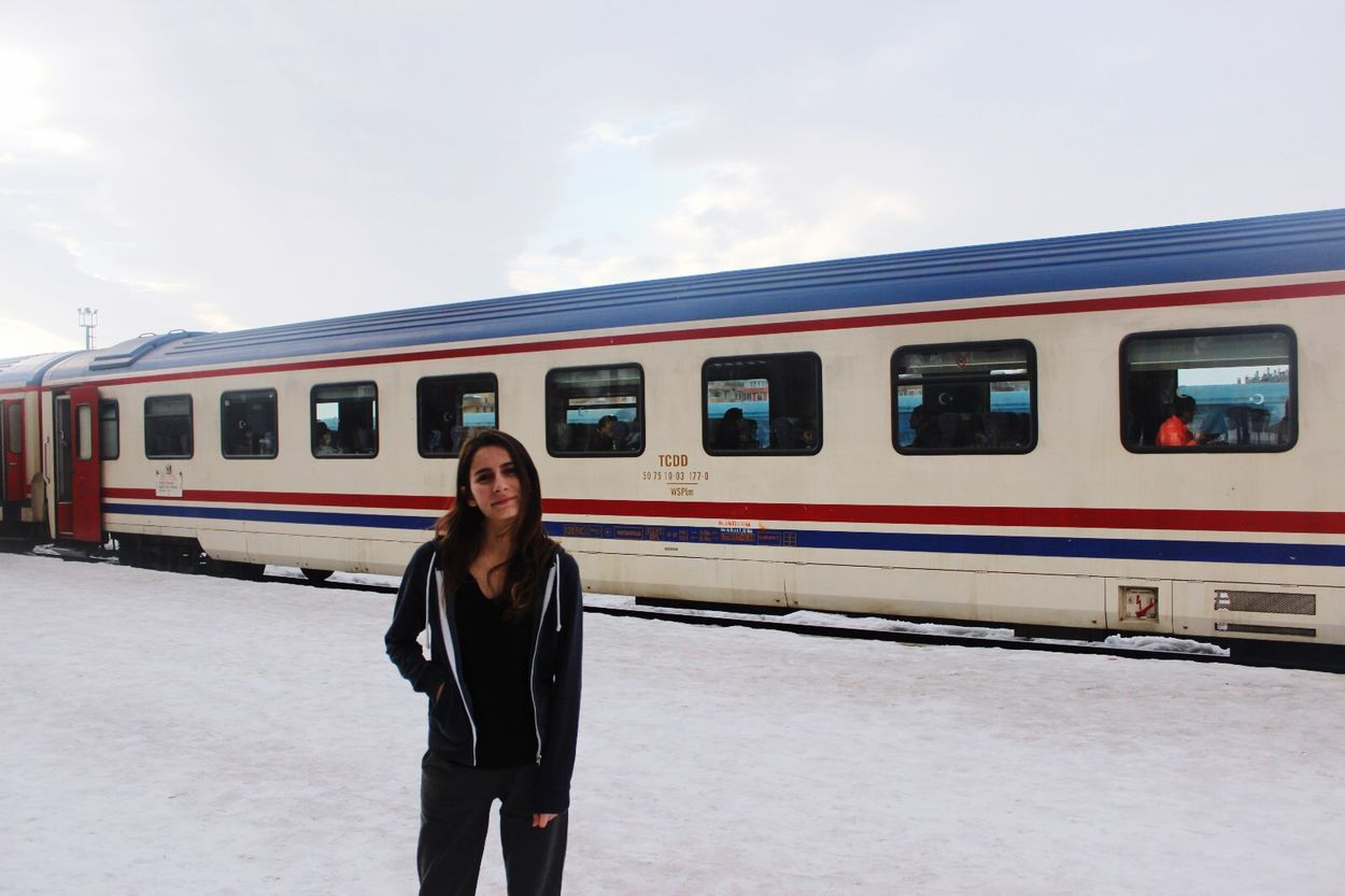 Turkey Kars Doğu Ekspresi Train Trip Cold Tranquility White Winter Photography EyeEm Holiday Transportation Public Transportation Train Rail Transportation Travel