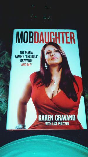 My book is finally here! Mobwifes Karengravano MAFIA🙏