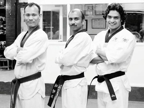 Taekwondo friends