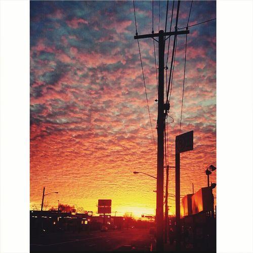 Sky Clouds Beautiful Beautiful Sky Likeforlike Sunrise Sunset Nature Photography Heaven