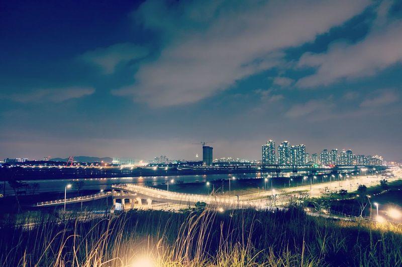 Sky City Night