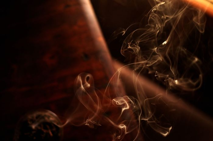 Incense smoke Fineartphotography Conceptual Photography  Artisticphoto Capturedconcepts Detail Incense Smoke Smoke - Physical Structure Close-up Incense Filament Energy Efficient Lightbulb Exploding