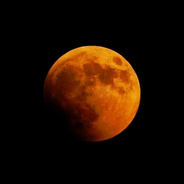 Greece Methoni Bloodymoon Space Moon Astronomy Night Sky Full Moon Scenics - Nature Beauty In Nature Space Exploration Idyllic