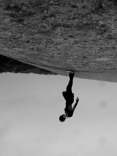 Sunday_flip Black & White Self Portrait Cliffwalk Change Your Perspective