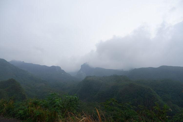 Mount Kelud, in