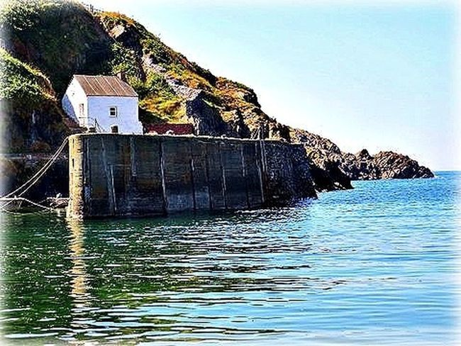 EyeEm Best Shots - Everything Wet Porthgain (Welsh for fair/beautiful port) is a village in the Pembrokeshire Coast National Park in Wales, located between St David's and Goodwick, and just north of Llanrhian.