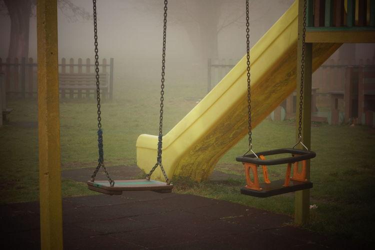 View of swings