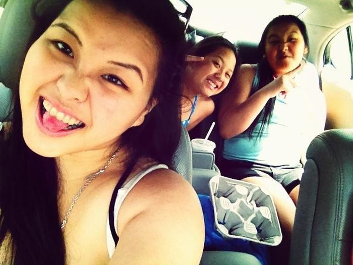 Beach with these brats !