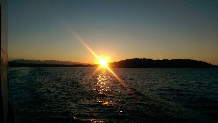 Beautiful Sunset! Ferry Boat Ride Homewardbound Sunset Htc One M8 HTC_photography EyeEm Nature Lover