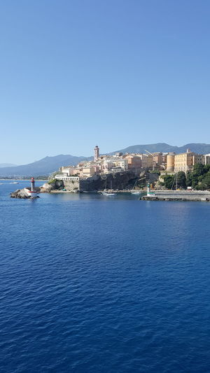 Bastia city