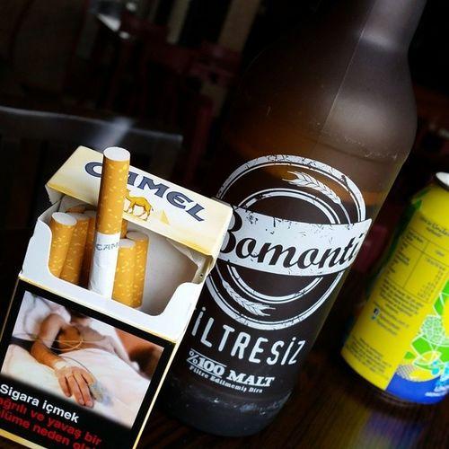 Beer Camel Smoke Bar Pub Friend Bro professional Photography Cool Bomonti Malt Instagram Instagood Like Followback Takipedenitakipederim Takip Followmefollow Followme Follow