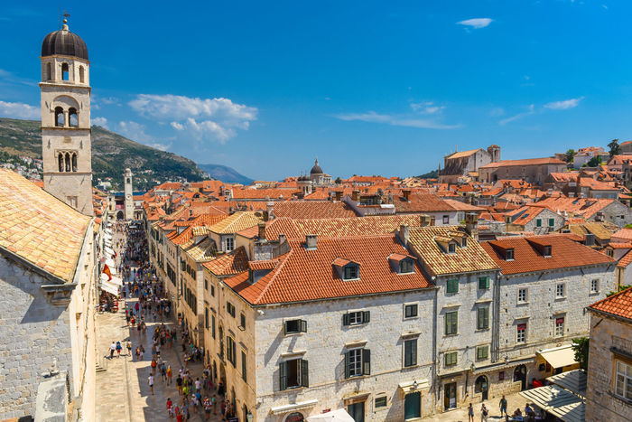 Church Dubrovnik, Croatia Holiday Mediterranean  Mediterranean Sea Old Town Red Roof Rooftop Adriatic Adriatic Coast Adriatic Sea Architecture Building Exterior Built Structure Coratia Day Dubrovnik No People Outdoors Sky Summer Tiled Roof  Travel Destinations