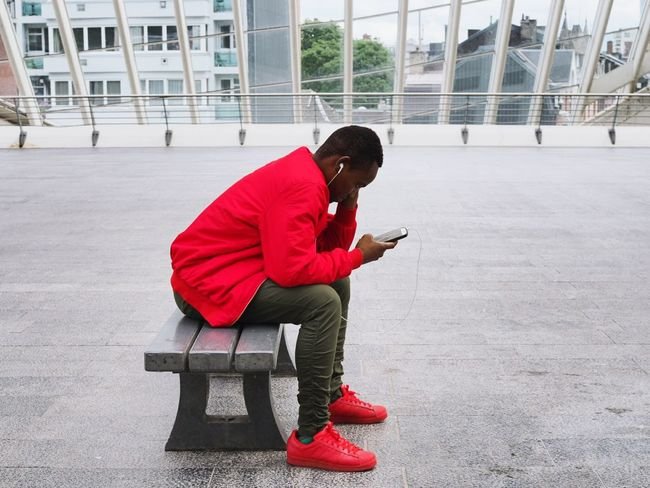 Profondo rosso Full Length One Person People Sport Day Child One Man Only Adult Indoors  Only Men Europe Streetphoto_color Streetphotography Belgium Liège-guillemins Liège Gare Du Tgv Indoor Photography Inside Photography Indoor Indoors  Architecture Real People Alone Time Let's Go. Together.