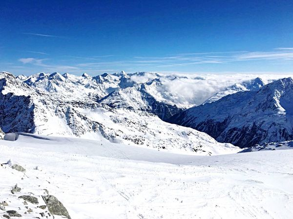 Snow Cold Temperature Winter Landscape Mountain Nature Ice Polar Climate Outdoors Beauty In Nature Alps Sunny Winter Day Mountain Range Winter Sport Ski Holiday Snowcapped Mountain Austria