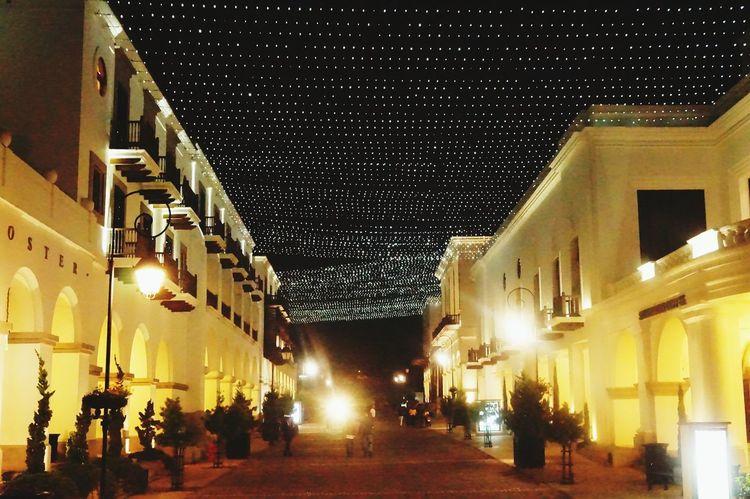 Nightshot🌙 Architecture Christmas Lights Illuminated Sky City Walking On The Street Guatemala