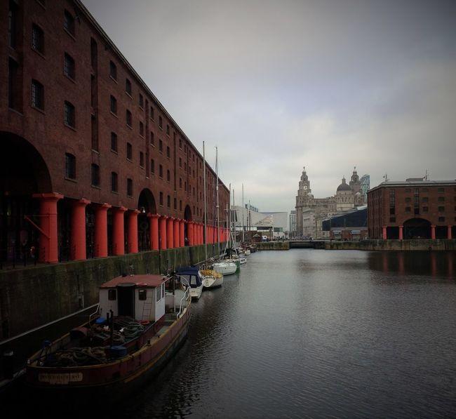 Albert Docks Architecture Building Exterior Built Structure City City Life Façade Liverpool Mode Of Transport Nautical Vessel Travel Destinations Waterfront